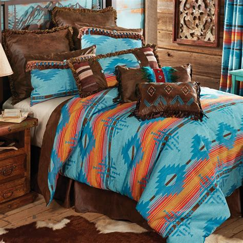 southwestern comforter set desert dance southwestern bedding collection