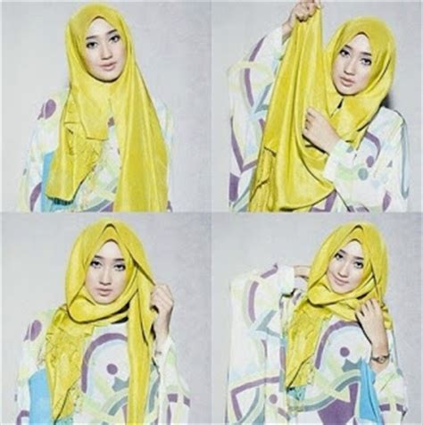 tutorial memakai hijab ala dian pelangi amazing tutorial for dian pelangi hijab styles top pakistan