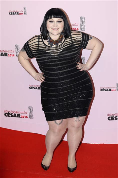 bett dito beth ditto pictures arrivals at the cesar awards