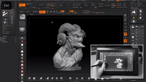 zbrush tutorial tools zbrush with cintiq companion tool for design