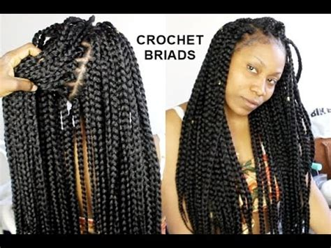 how long do you keep crochet hair in no cornrows crochet braids only 1 hour tutorial youtube