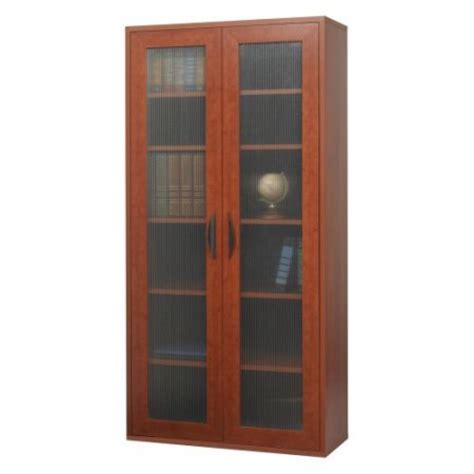 storage bookcase with doors cherry walmart
