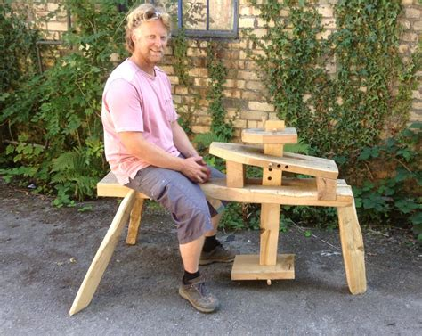 Work Bench Table Sean Hellman Ben S Shaving Horse