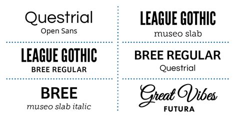 decorative font pairing how to choose the right font for your blog shareasale blog