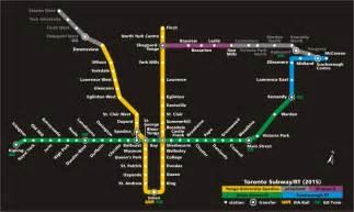 Toronto Metro Map by File Ttcsubwayrtmap 2015 Png
