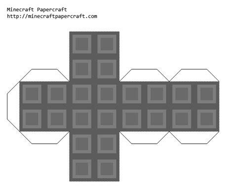 Minecraft Papercraft Pack - papercraft minecraft cobblestone block ocd texture pack