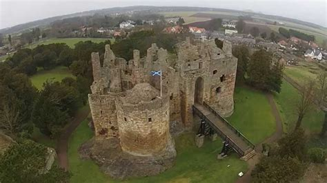 Castle Floor Plan by Dirleton Castle Youtube