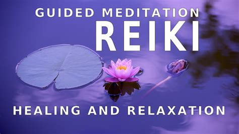 guided meditation reiki  healing  pain