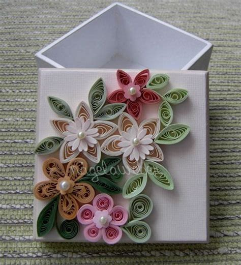 paper quilling box tutorial paper quilling box decoration