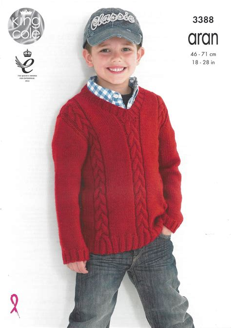 king cole aran knitting patterns king cole aran knitting pattern 3388 cabled sweaters