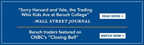 Nyu Executive Mba Graduate 2017 Wall Journal by Baruch College The City Of New York Cuny