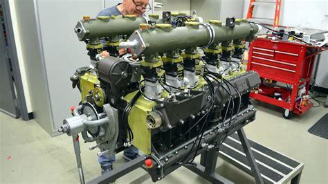 porsche 917 engine a porsche 917 flat 12 engine rebuilt in 3 minutes