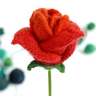 knitting pattern rose ravelry a knitted rose pattern by loani prior