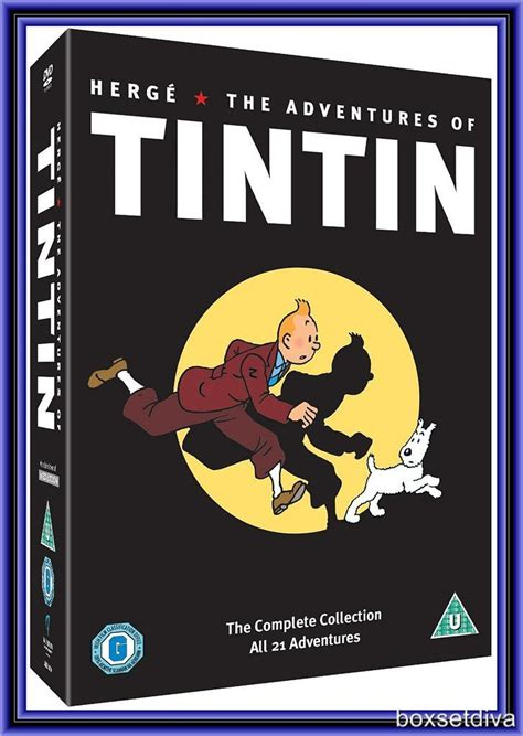 Tintin Set 6 Non Ori the adventures of tintin the complete collection brand
