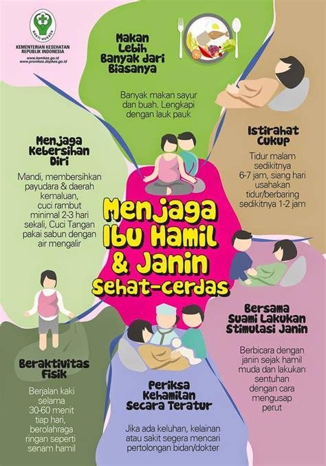Ibu Hamil Menjaga Ibu Hamil Dan Janin Tetap Sehat Infografis