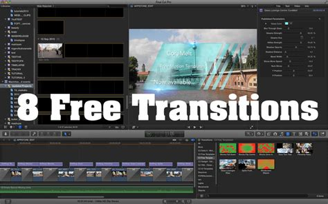 coremelt motion templates for final cut pro 1 on the mac