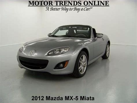 how to sell used cars 2012 mazda miata mx 5 user sell used sport convertible auto paddle shift media cruise
