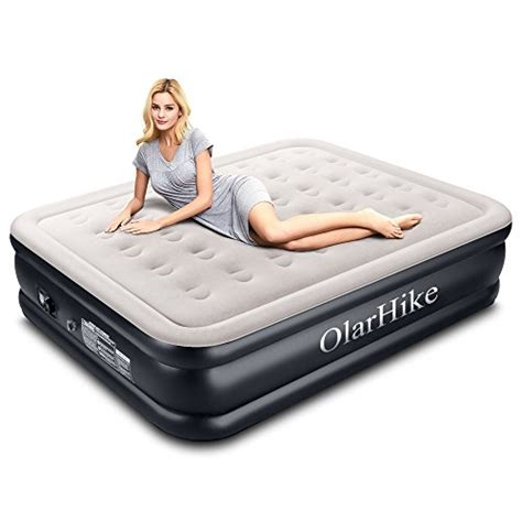 cheap olarhike size air mattress with built in up air bed raised