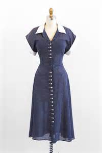 1940s swing dress r e s e r v e d vintage 1940s dress 40s dress blue