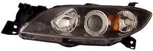 mazda 3 custom headlights 2004 2008 eye projector