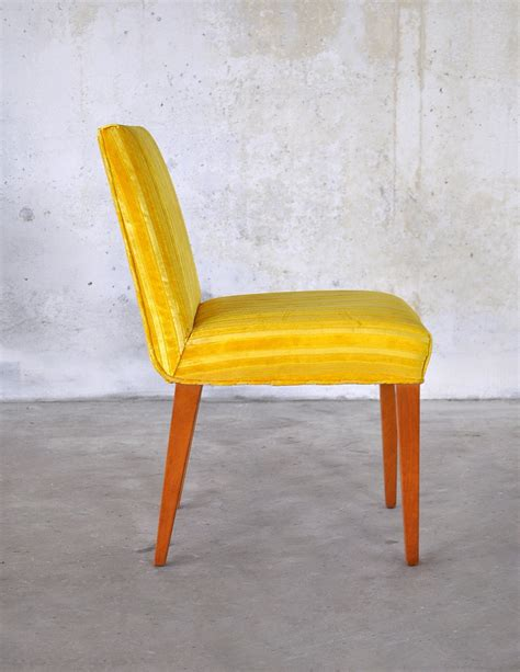 Bright Yellow Chair Design Ideas Original And Bright Modern Yellow Leather Dining Chairs Dining Chairs Design Ideas Dining