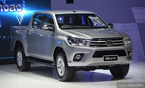 toyota th gallery 2016 toyota hilux thai launch live photos image