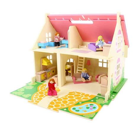 bigjigs dolls house bigjigs blossom cottage dolls house