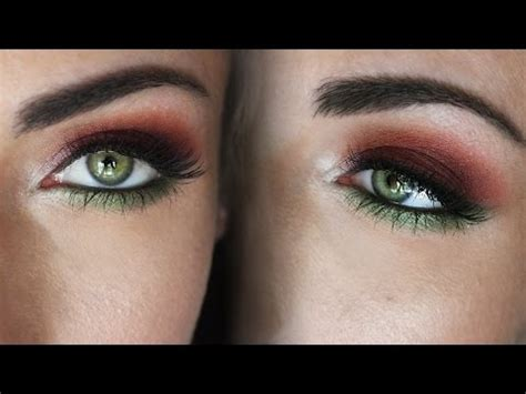 making green how to make green eyes pop makeup tutorial for green