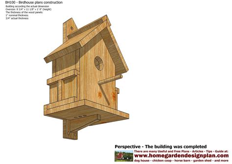 Bird Houses Plans by How To Build Bird Houses Studio Design Gallery