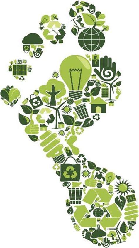 imagenes huellas verdes la huella de carbono