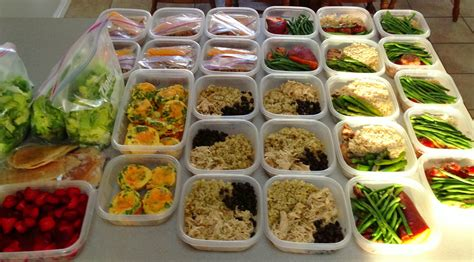 food prep meals my nutritious dish meal prep one