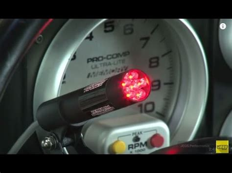 msd digital shift light msd digital shift lights ignition installation tutorial