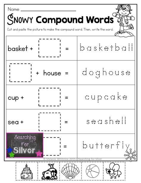 printable compound word games for second grade 11 best images about compound words on pinterest free