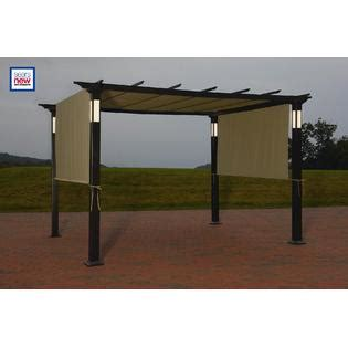 Sears Pergola by Led Lighted Pergola Classic Sun Shade And Evening Shelter