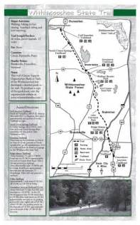 florida trail map pdf withlacoochee trail state park