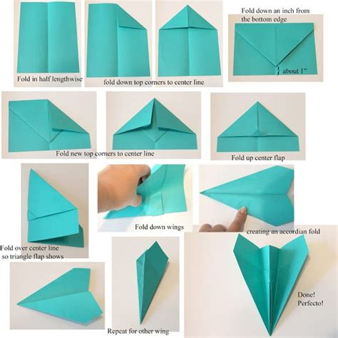 Paper Aeroplane Folding - how to make a paper airplane here s the tutorial and