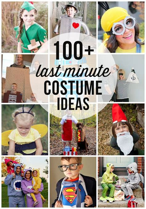 collection    minute halloween costume ideas