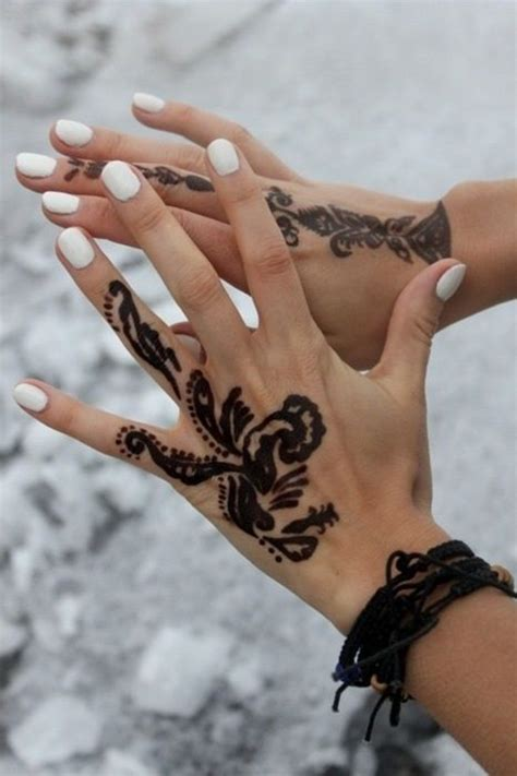 cool henna tattoos on hand 60 tattoos for and amazing ideas