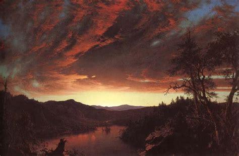 twilight painting raphael museum frederic edwin church