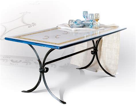 tavoli ferro battuto tavoli da giardino in ferro battuto e pietra mobilia la