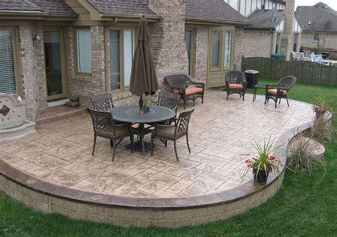 concrete patio designs layouts best 25 colored concrete patio ideas on stain