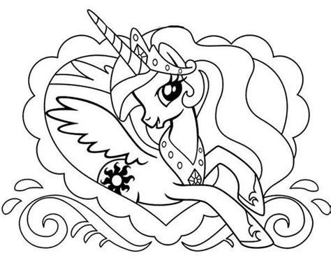 pony princess celestia in love frame my little pony