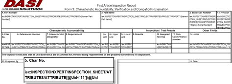 part inspection report template customizing solidworks inspection reports part 1
