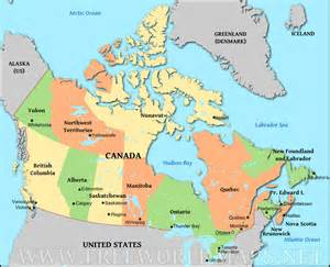 maps canada get directions political map of canada thinglink