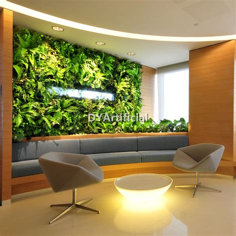 Vertical Garden Decoration by New Design Artificial Plants Wall For Home Frame Dongyi