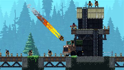 broforce gets full game release in march broforce ps4 review playstation universe