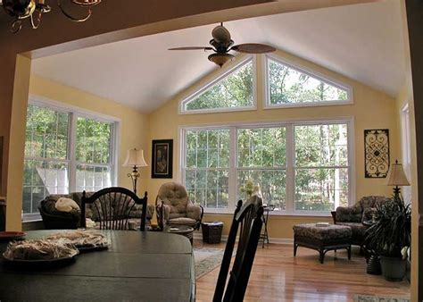 Sun Room Windows Ideas Sunroom Additions Sunroom Addition With Dreamglass Trapezoid Windows Allows You To Enjoy