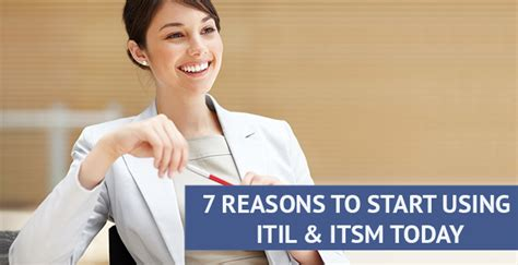 7 Reasons To Learn To Cook by 7 Reasons To Start Using Itil And Itsm Today Invensis