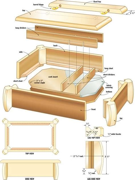 Free Woodworking Plans For Jewelry Box