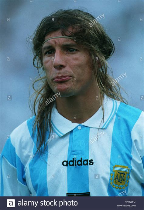 As Roma 01 claudio caniggia argentina as roma 01 august 1994 stock